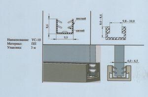 Уплотнитель 4-6,5 мм Рубцовск