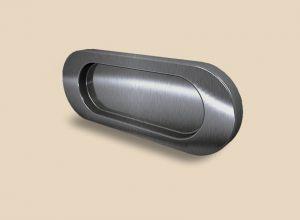Ручка серебро глянец овальная Италия Рубцовск