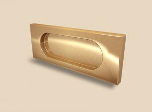 Ручка Золото глянец прямоугольная Италия Рубцовск