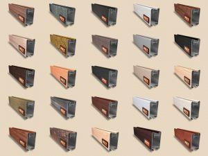 """Алюминиевый ламинированный профиль """"HOLZ"""" для шкафов купе и межкомнатных перегородок Более 100 цветов Рубцовск"""
