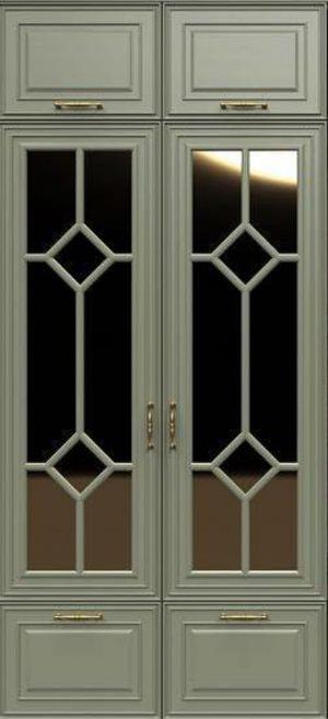 Фасад с фигурной филенкой эмаль Рубцовск