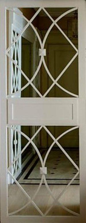 Вставка с фигурной филенкой на зеркале эмаль Рубцовск